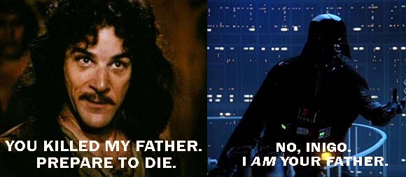 Inigo and Darth