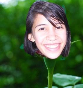 brianna as flower