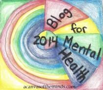 Blog for Mental Health 2014 badge