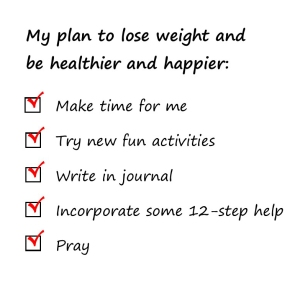 my plan for weight loss